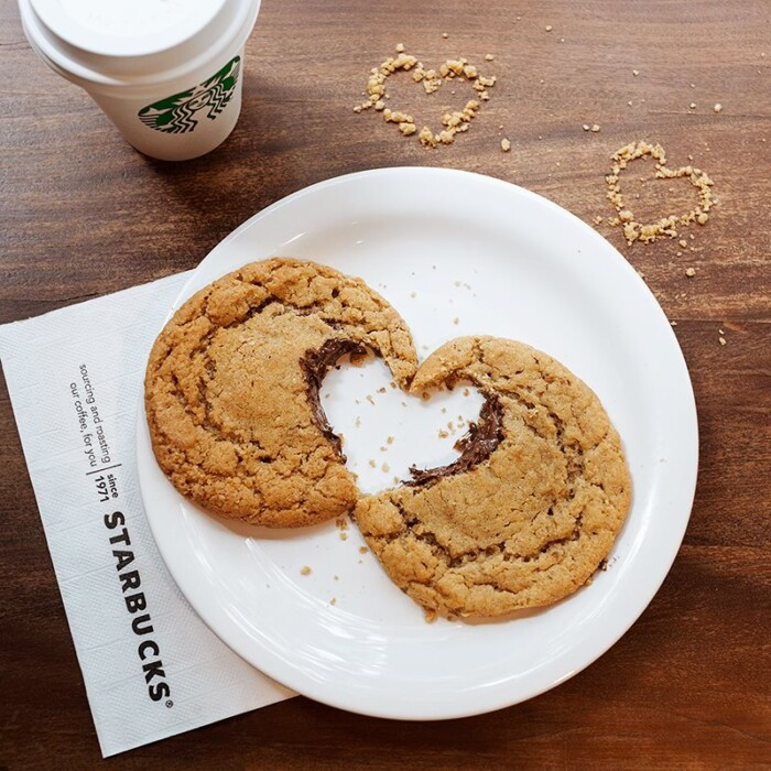 Cookie Starbucks Com Nutella