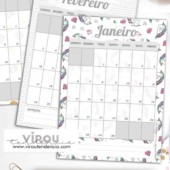 Planner 2019 Gratuito para Download - planejando o ano de 2019 com um printable gratuito para download