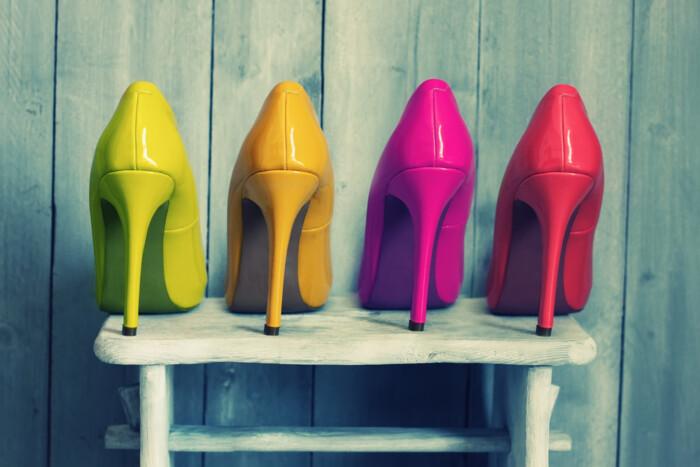 como limpar sapatos femininos - cuidados sapatos de couro, camurça, sintético