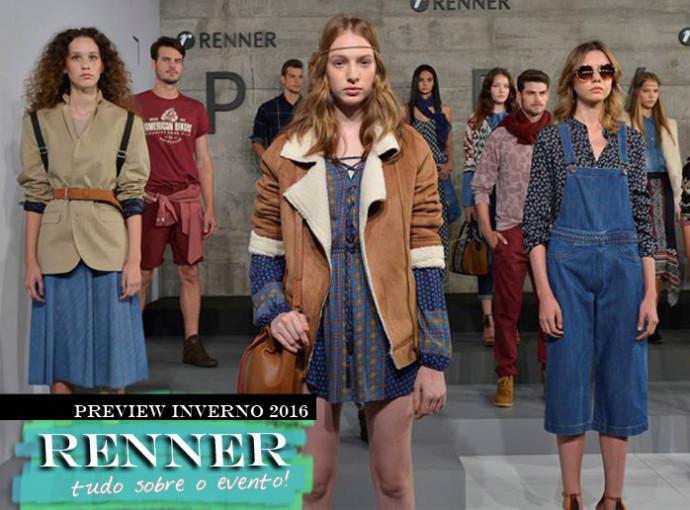 Colecao Inverno 2016 Renner