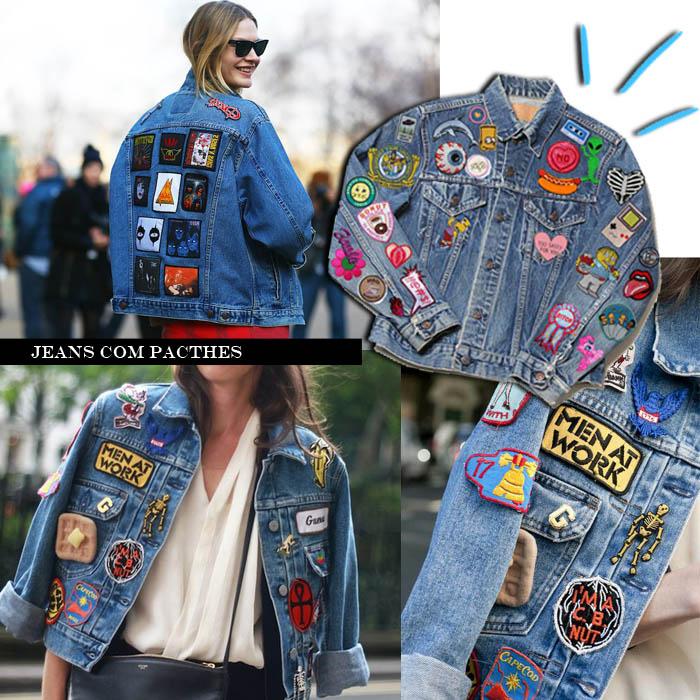 Como Usar Jaqueta Jeans com Patch