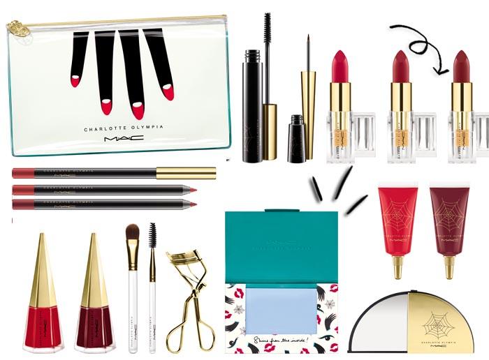 Charlotte Olympia MAC Cosmetics Coleção Maquiagem