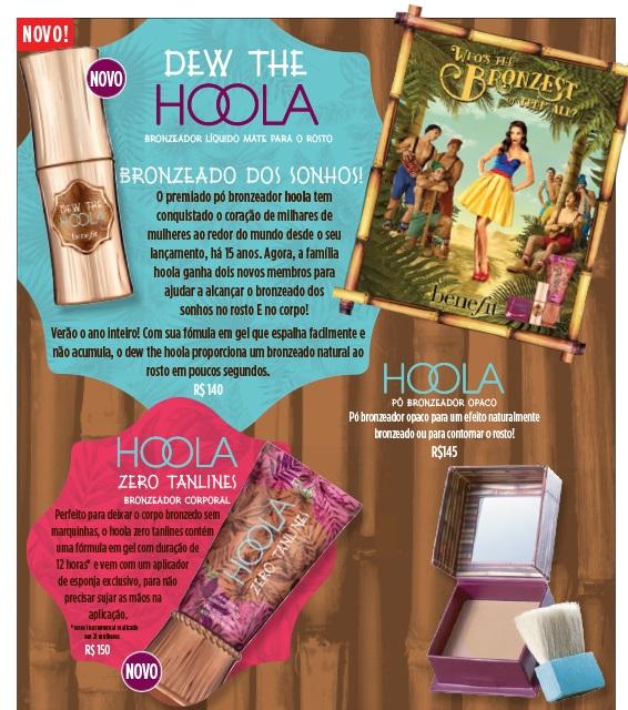 Benefit Cosmeticos Linha Hoola
