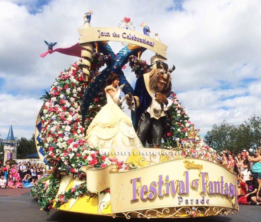 Parada Disney World Parque Magic Kingdom
