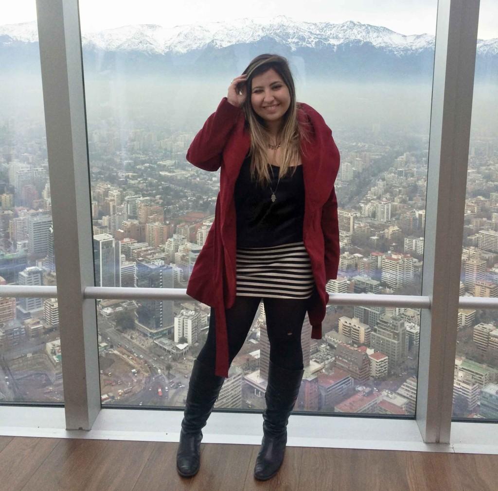 Look de Frio Viagem Chile no Inverno