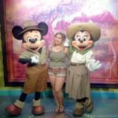 Mickey e Minnie Safari no Parque Animal Kingdom Viagem para a Disney