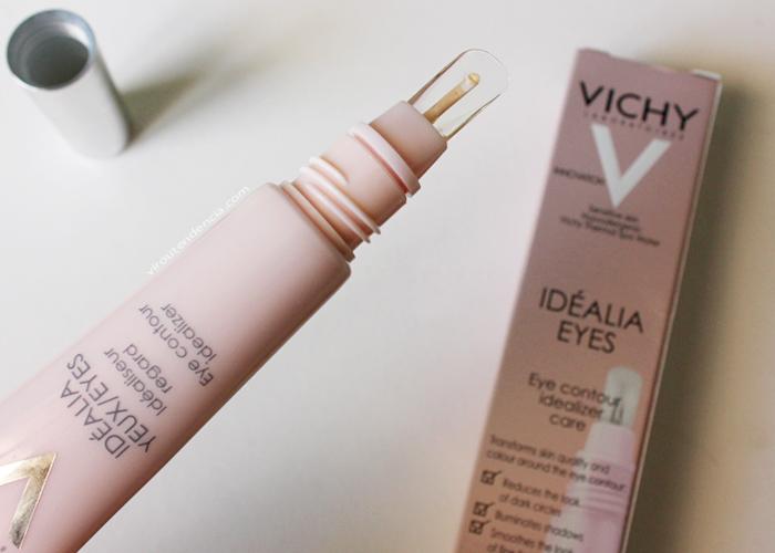 Resenha Creme para Olhos Idealia Eyes Vichy