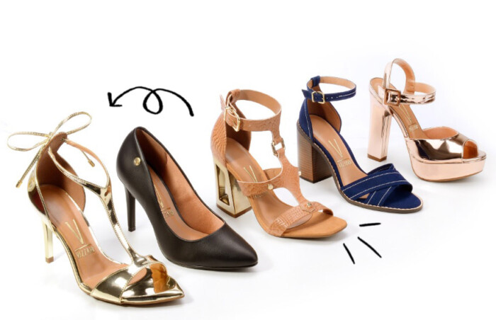 8c020fb56c Coleção de Verão 2017 da Vizzano - Tendências em Sapatos Femininos