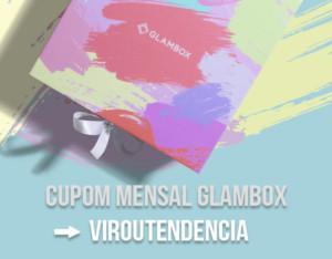cupom desconto mensal glambox 2016
