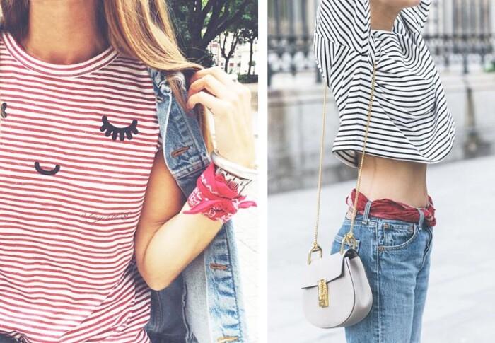 Dicas de Como Usar Bandanas Femininas - Tendências de Moda