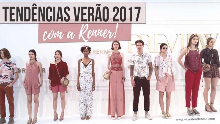 Coleção Renner Verão 2017 - tendências em roupas 7057ba67fac