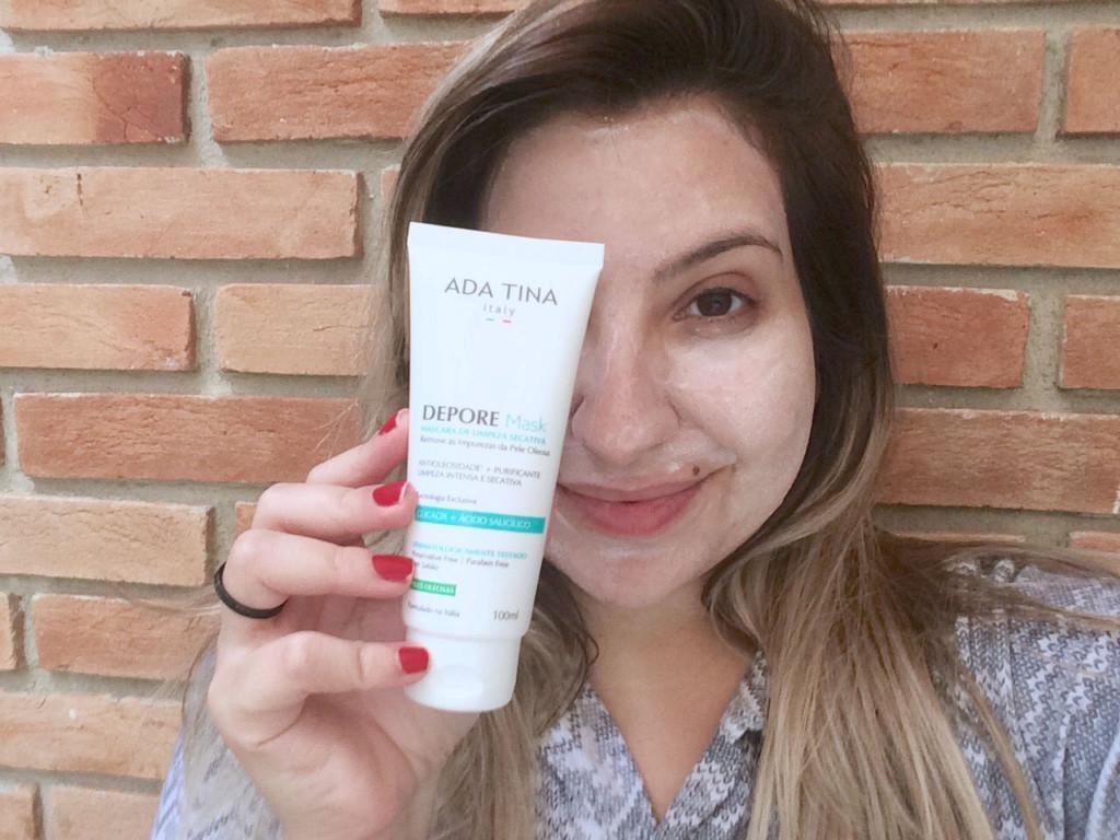 Máscara de Limpeza Secativa Ada Tina Depore Mask
