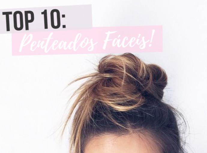 Penteados Faceis para o Dia a Dia - Penteados Simples de Fazer