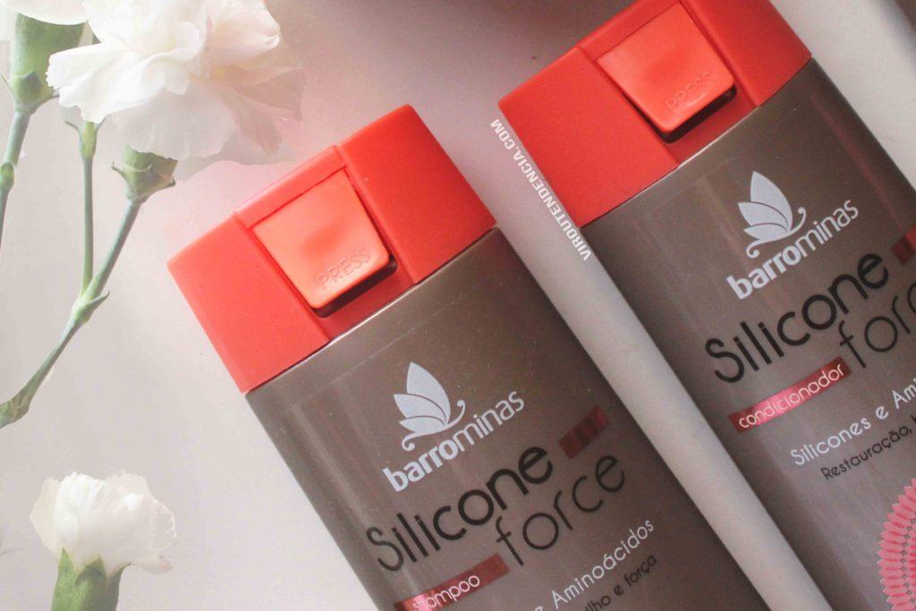 Resenha Linha Silicone Force da BarroMinas Cosmeticos