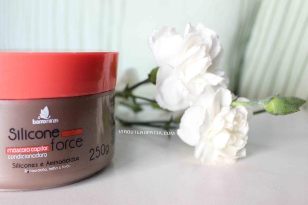 Resenha Mascara de Hidratacao Silicone Force da BarroMinas