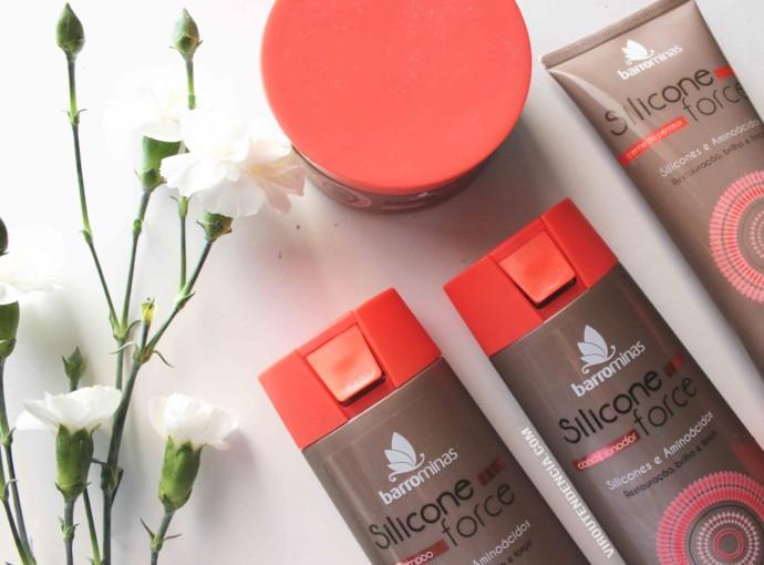 Resenha Shampoo Condicionador e Mascara de Hidratacao Silicone Force da BarroMinas