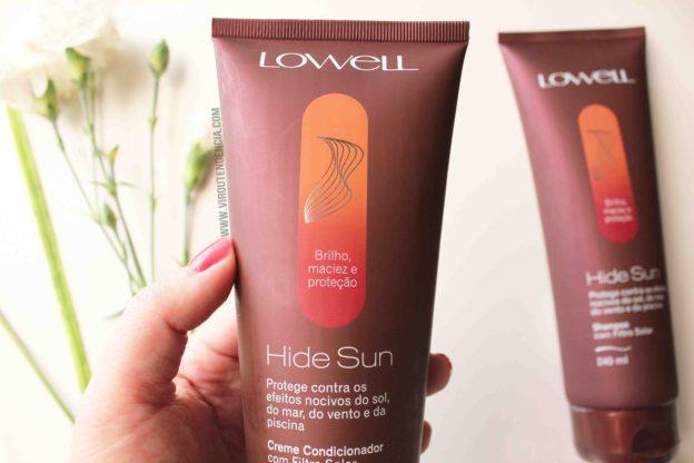 Resenha Hide Sun Lowell - Shampoo e Condicionador