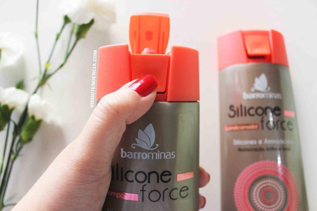 Resenha Shampoo Silicone Force da BarroMinas Cosmeticos
