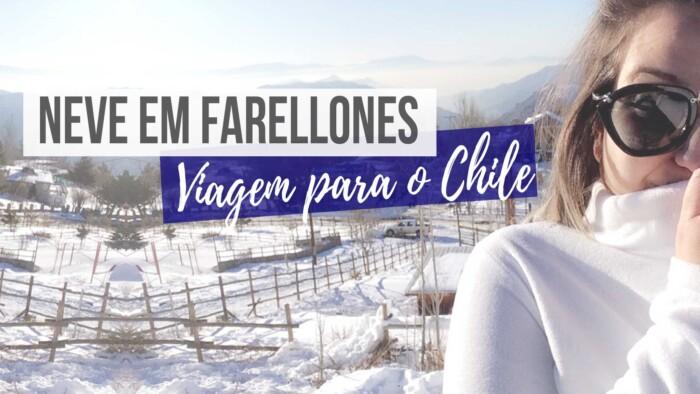 Viagem para o Chile Neve em Farellones
