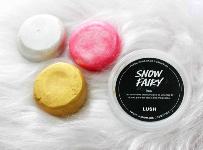 Resenha LUSH Snow Fairy