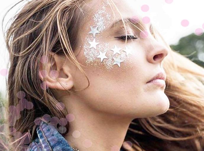 Maquiagem de Carnaval Glitter Ideias Criativas de Make
