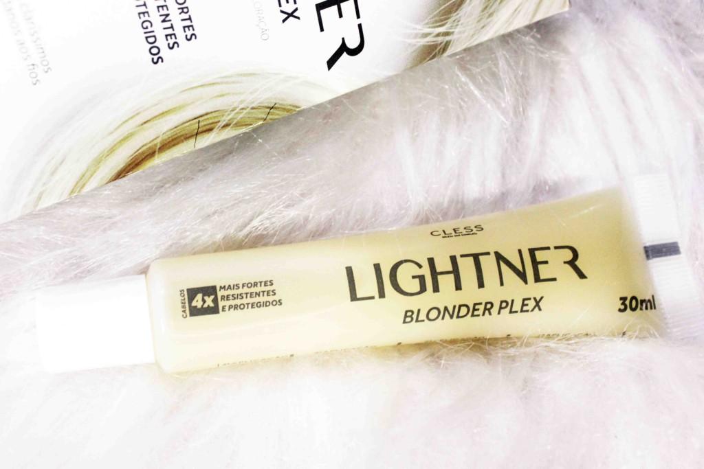 Resenha Cless Lightner Blonder Plex sérum protetor para descoloração