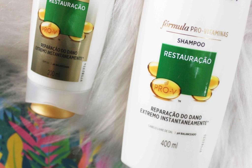 Resenha Pantene Restauração Pro Vitaminas