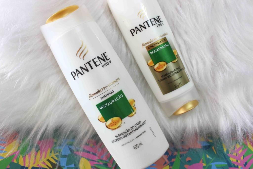 Resenha Pantene Restauração Shampoo e Condicionador Pro Vitaminas
