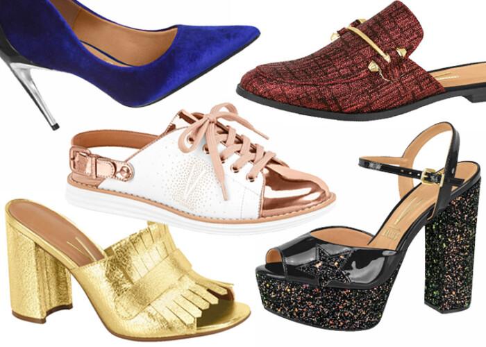 bd5aab7e86 Os sapatos Femininos Coleção Vizzano Inverno 2017