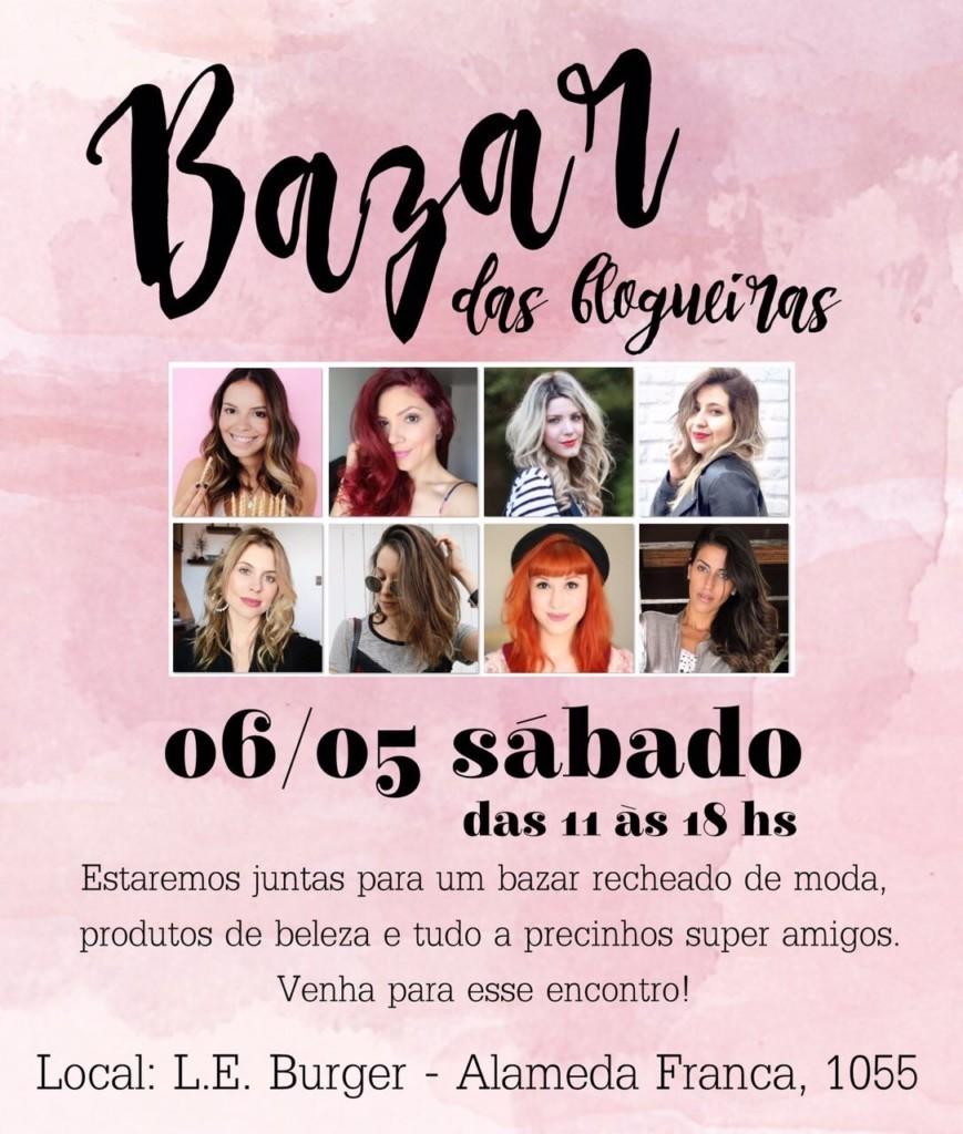 Bazar das Blogueiras São Paulo SP