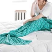 Comprar Cobertor Sereia Croche Trico