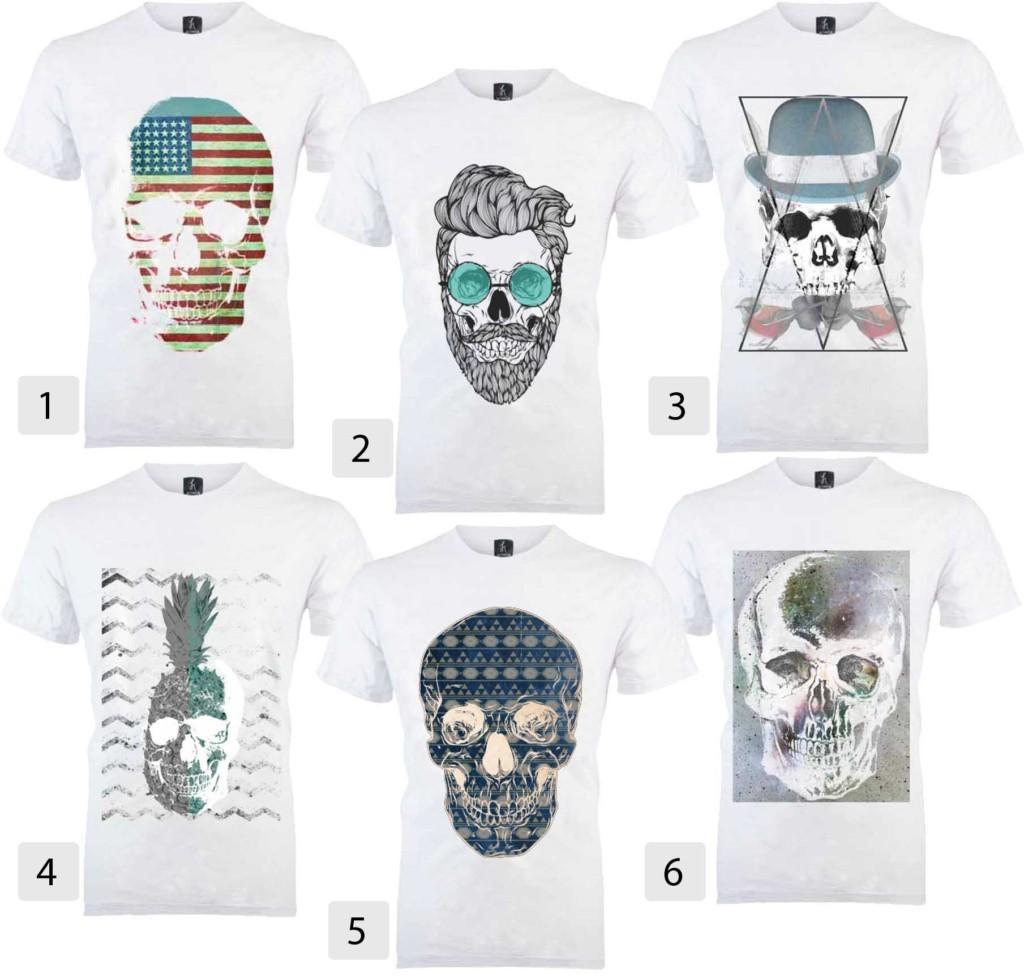 Black Friday 2017 Camisetas Masculinas - camiseta caveira rocker, camiseta caveira barba, camiseta caveira americana