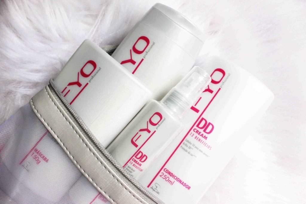 Jequiti DD Cream 12 Beneficios Fyo Profissional - shampoo, condicionador, máscara de hidratação e Balm