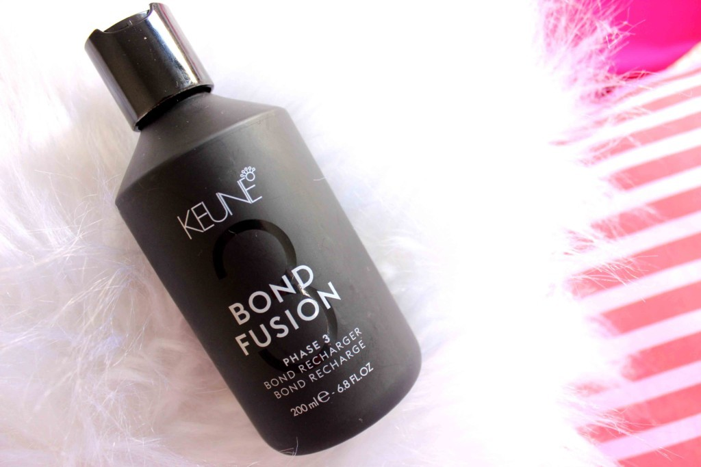 Resenha Keune Bond Fusion - Bond Recharger Phase 3