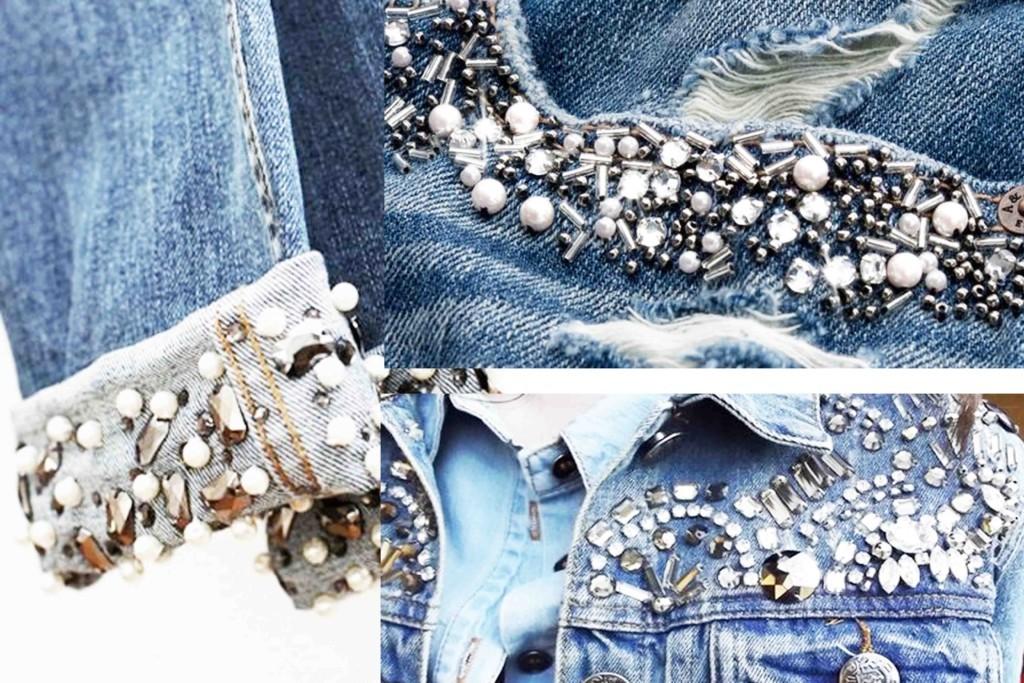 Tendencias Jeans Inverno 2017 Bordados e Aplicações