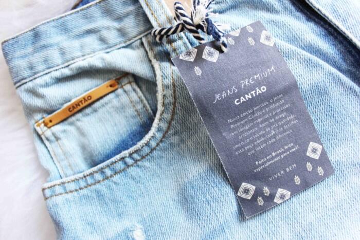 614164d26d Jeans Cantão e Vicunha - a peça premium em comemoração aos 50 anos ...