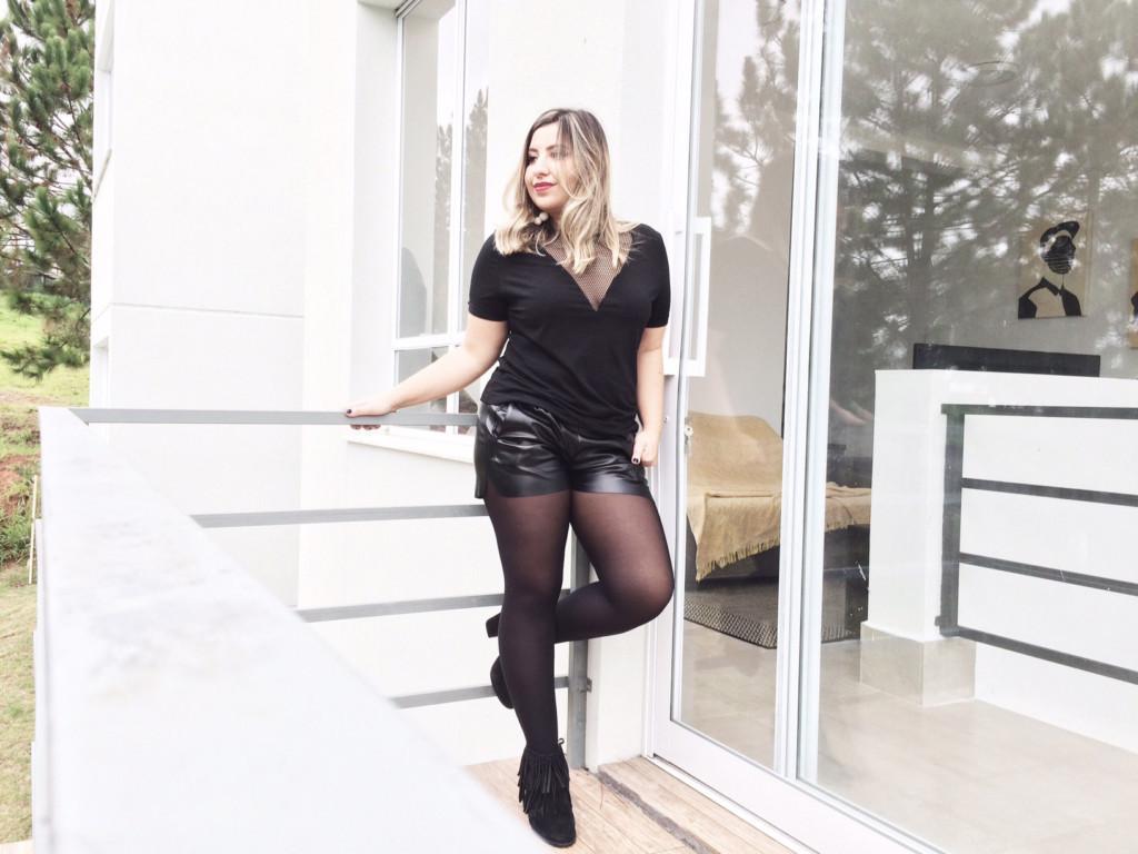 Look All Black - Como Usar Looks Preto com Preto