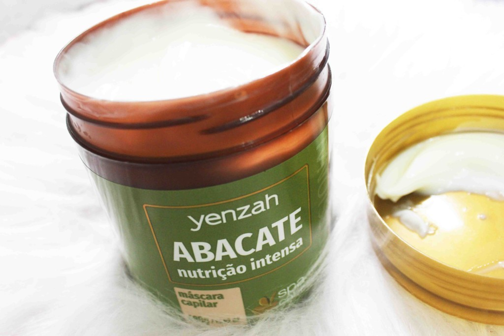 Resenha Máscara de Nutrição SPA do Cabelo Yenzah Abacate
