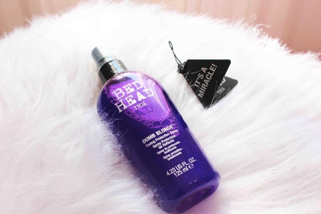Resenha Spray Dumb Blonde Bed Head Toning Protection Spray - Bed Head by TIGI