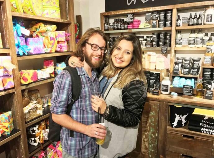 Coleção LUSH Dia dos Namorados - produtos de beleza Cruelty Free
