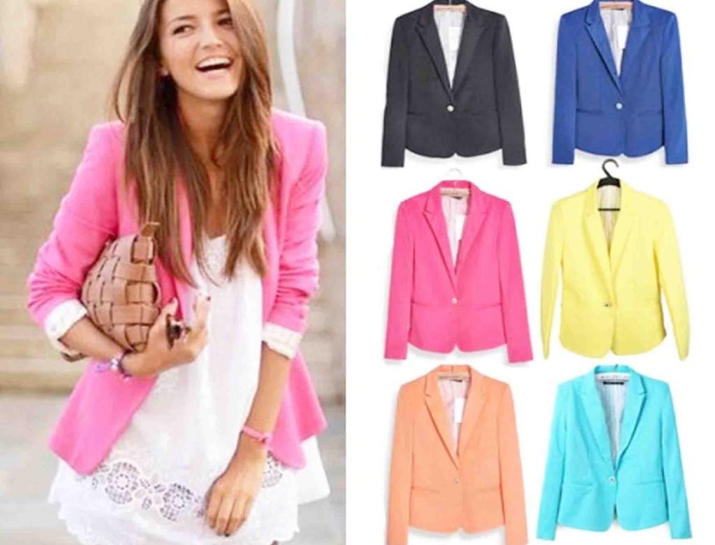 Comprar Blazer Online - Moda Feminina Blazer Doklok