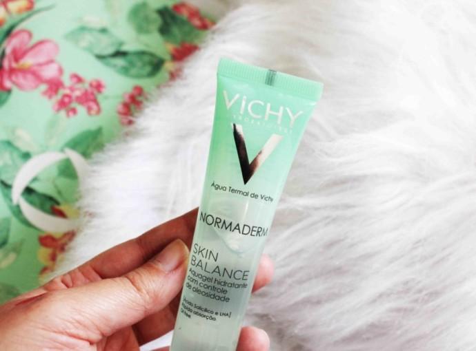 Resenha Vichy Normaderm Skin Balance Hidratante Peles Oleosas