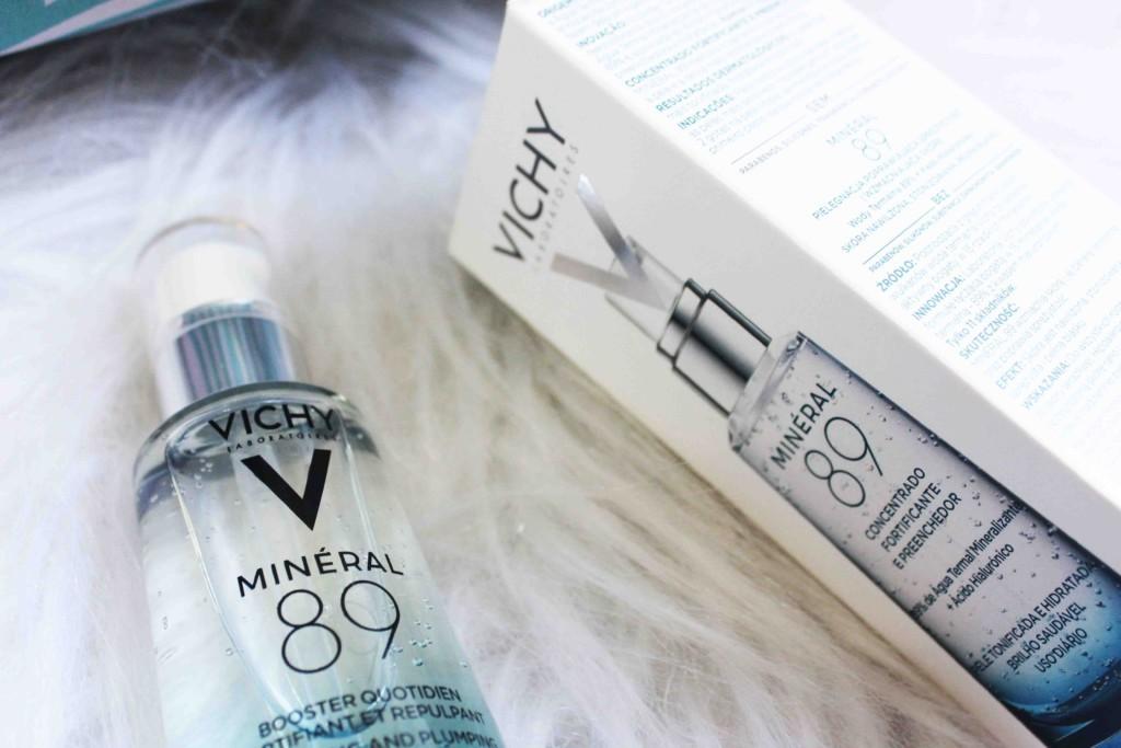 Resenha Vichy Mineral 89 - Produto com Água Termal Mineralizante e Acido Hialurônico