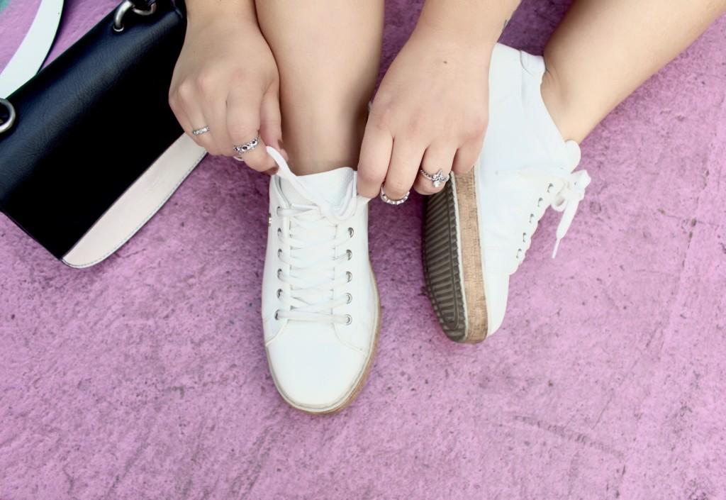 Como Usar Tênis Branco - Look do Dia Blogueira Moda Beleza