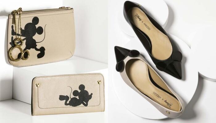 6dea4755c Coleção Disney Arezzo - bolsas e sapatos do Mickey