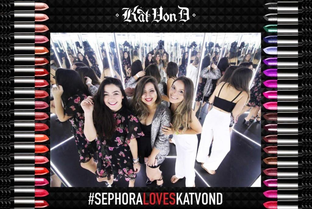 Kat Von D na Sephora Brasil - maquiagem artística, base de longa duração. delineador a prova d'água