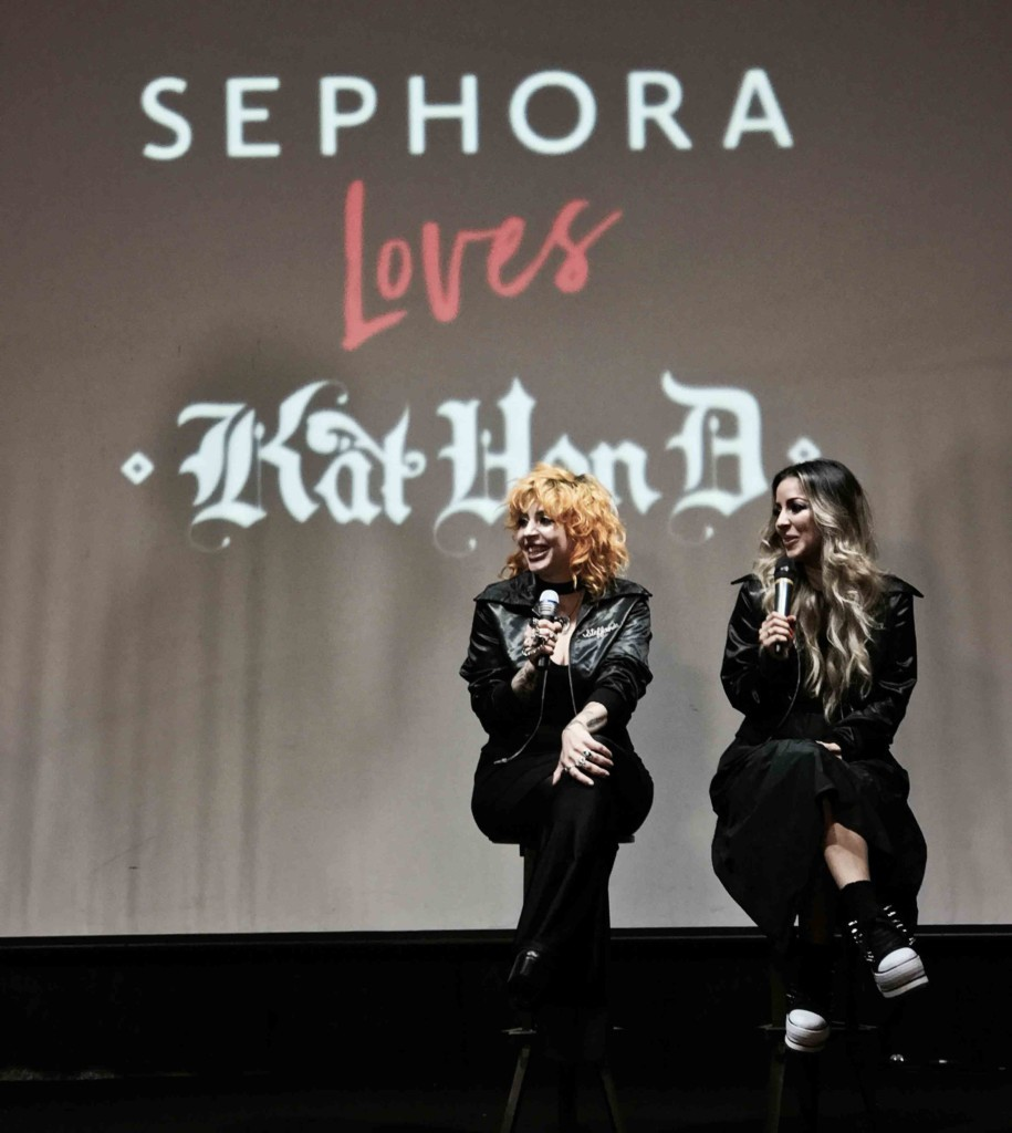 Maquiadoras Kat Von D: Tara Buenrostro e Steffanie Strazzere