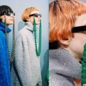 Tendência Cordinha para Óculos - Tendências Acessórios 2018 - Coleção Balenciaga Fall 2016