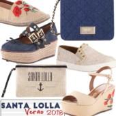 Colecao Verao 2018 Santa Lolla - Tendências Sapatos Femininos