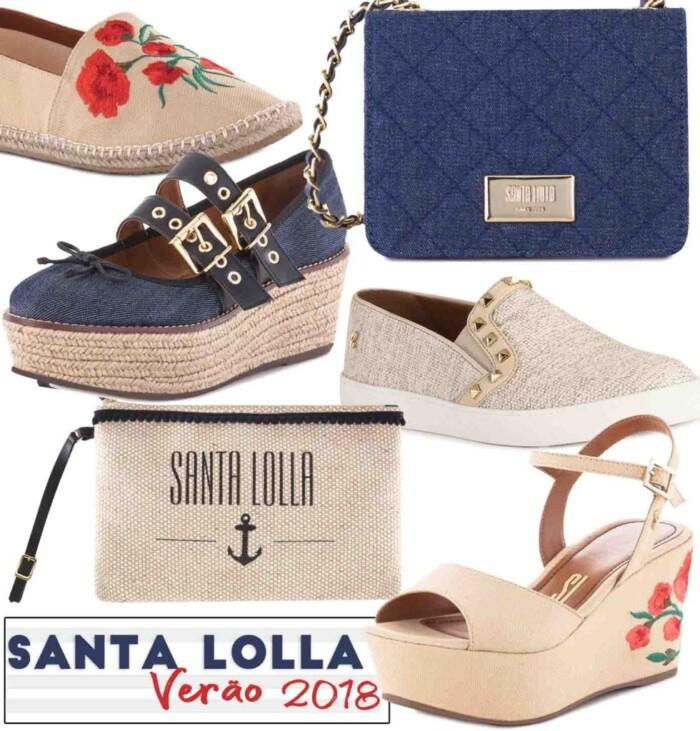 Coleção Santa Lolla Verão 2018. Coleção Verão 2018 Santa Lolla - Tendências  Sapatos Femininos 6734e68a0b